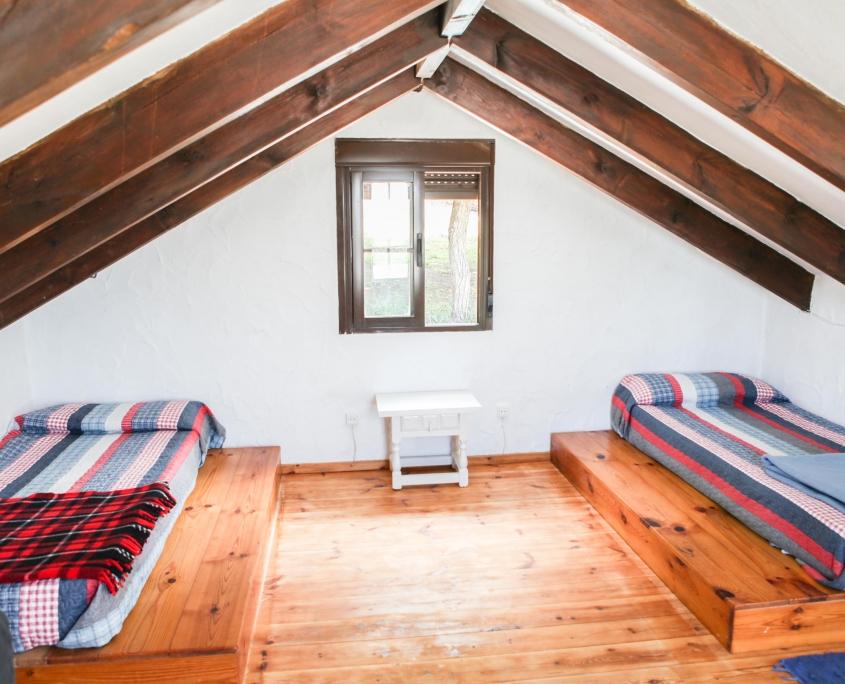 Adosado con porche dormitorio planta 1