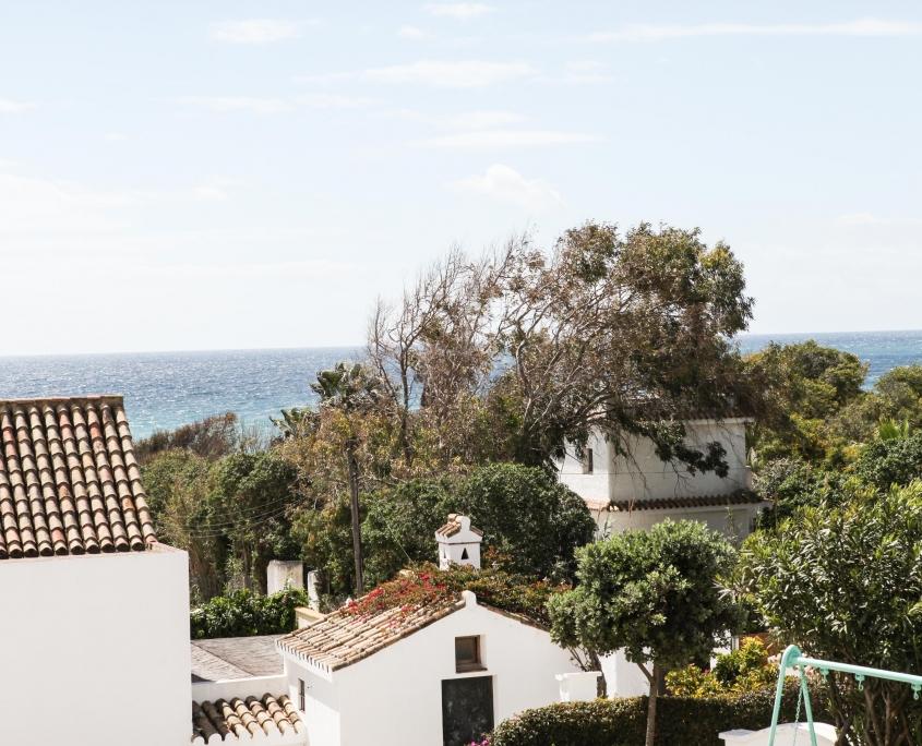 Adosado con porche vistas terraza