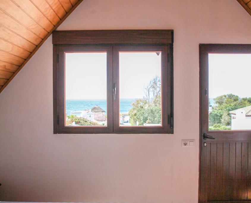 Duplex con vistas desde el dormitorio abuhardillado