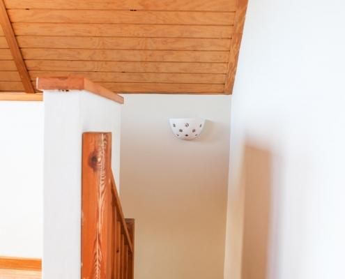 duplex con vistas escalera